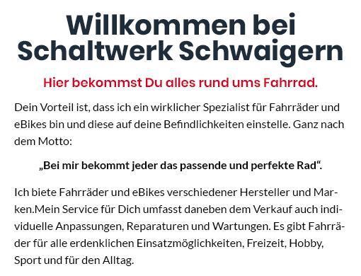 Fahrrad für  Neckarsulm, Weinsberg, Eberstadt, Offenau, Oedheim, Heilbronn, Bad Wimpfen und Bad Friedrichshall, Untereisesheim, Erlenbach