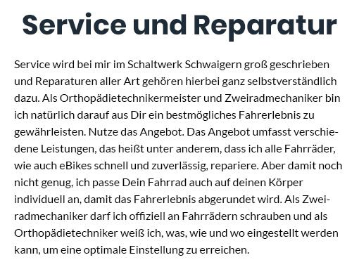 e-bike Reparatur in 71665 Vaihingen (Enz)